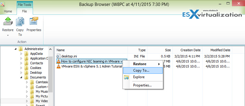 Free Veeam Endpoint Backup Released | ESX Virtualization