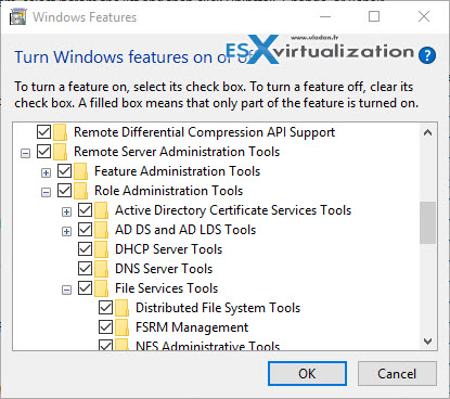 Windows 10 RSAT update | ESX Virtualization