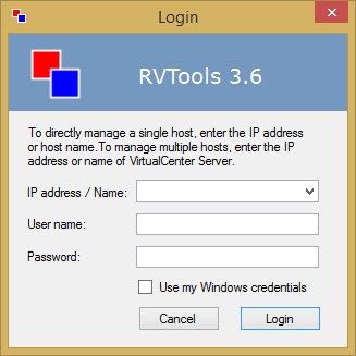 Freeware RVTools 3.6 released | ESX Virtualization