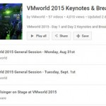 Free VMworld 2015 Sessions on YouTube