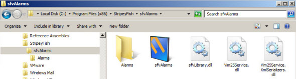 sfvalarms directory Free GUI utility called svfAlarms for Import and Export vCenter Alarms