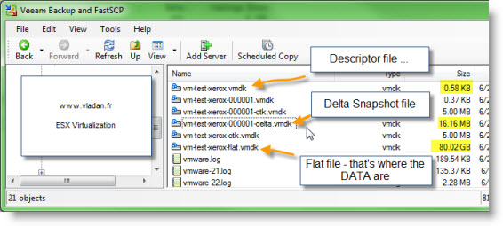 Hyper-V versus vSphere Snapshots, and why not use snapshots as a
