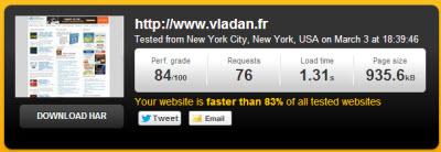 Vladan.fr - Speed Test