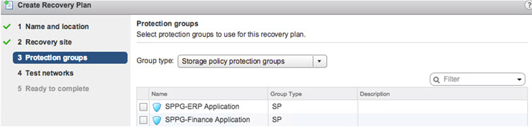 SRM 6.1 Creating a Recovery Plan