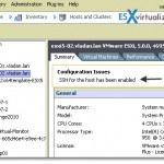 How-to disable ssh warning esxi 5