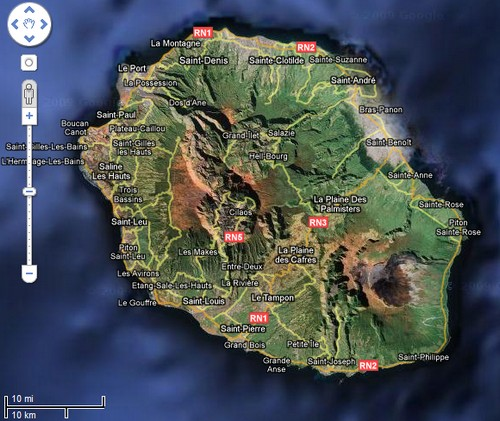 Reunion Island - French Territory
