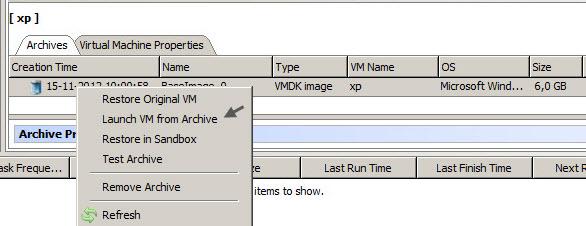 Starwind VMware Backup - restore VM