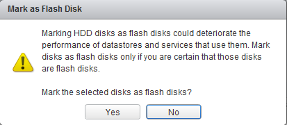 tag a disk as ssd