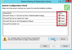 Veeam Backup and Replication v9