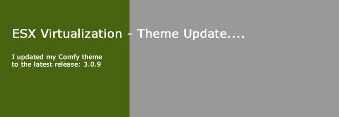 ESX Virtualization theme update