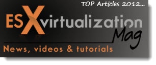 top 2012 Top 10 on ESX Virtualization in 2012