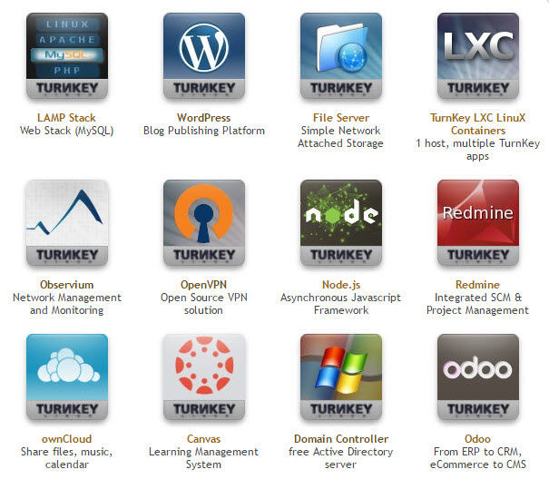 Turnkey Linux Appliances - Free Download, Easy setup