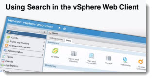 vSphere 5.1 Using the new Web Client's search capabilities