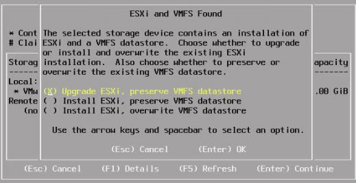 How to upgrade ESXi via ISO  of Free ESXi 6.0