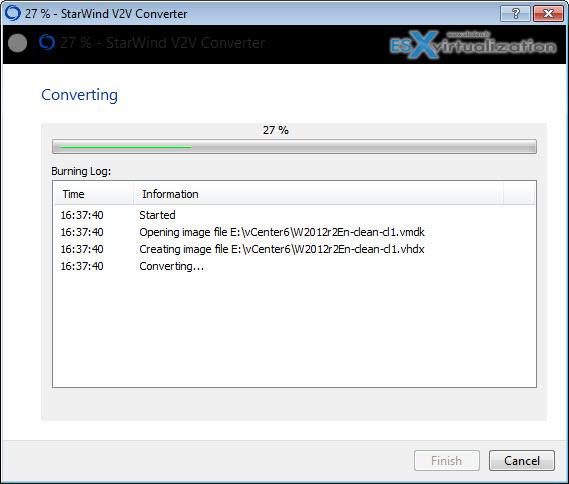 Starwind V2V Converter Free Tool Update - What's New?   ESX