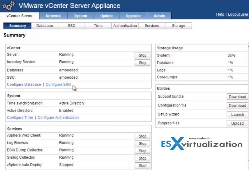 vCenter Server Appliance 5.5 (vCSA) – Installation and Configuration Video