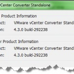 UPdate your free VMware Converter software