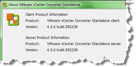 VMware vCenter Converter Standalone 4.3 released