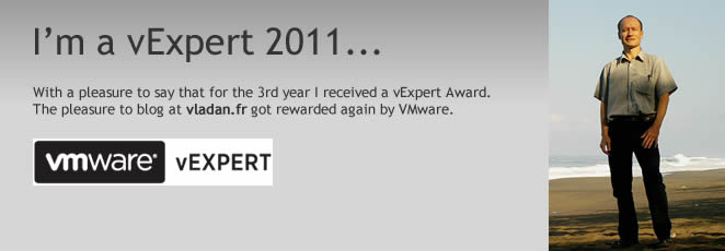 It's an enormous pleasure being awarded vExpert again