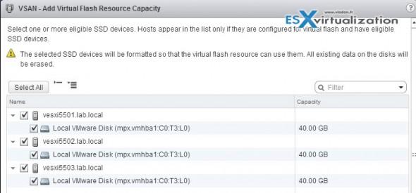 vFlash Read Cache configuration steps