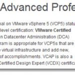 VCAP5-DCA – VMware vSphere 5 Data Center Administrator – Exam Available