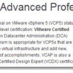VCAP5-DCA – VMware vSphere 5 Data Center Administrator – Exam Available