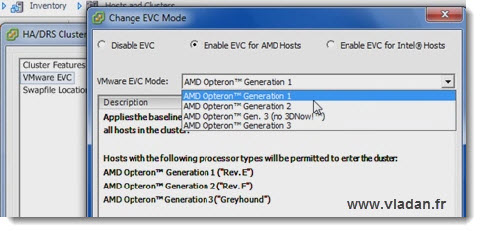 vSphere 5 trainsignal training - vMotion - what's new in vSphere 5? EVC, multi NIC vMotion