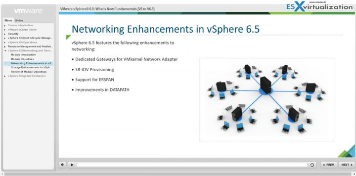 vSphere 6.5 what's new free training