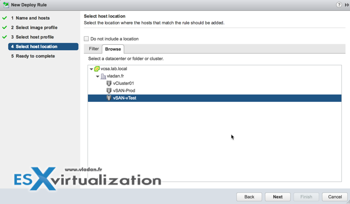 vSphere 6.5 AutoDeploy and Location Selection