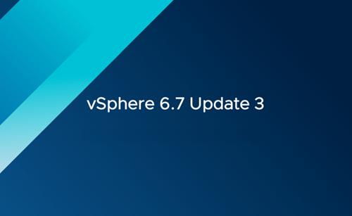 vSphere 6.7 Actualización 3