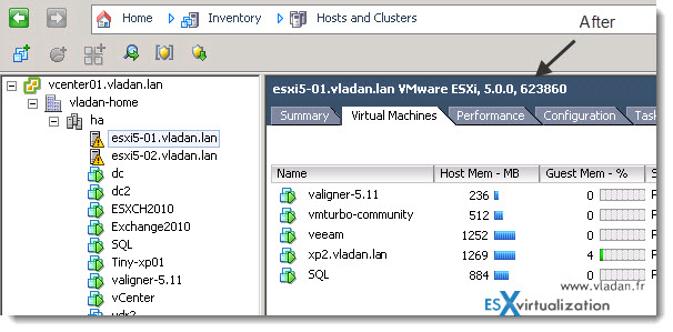 How to update vSphere 5 to vSphere 5 U1 using update manager  Read more: http://www.vladan.fr/?p=15124#ixzz1plIH9odo