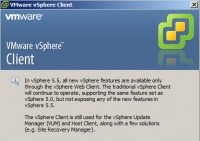 vSphere client 200x141 VMware ESXi 5.5 free Version has no more hard limitations of 32GB of RAM
