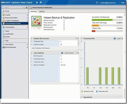 Veeam 7 vSphere Web Client Plugin