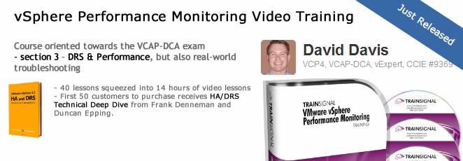 vSphere Performance Monitoring Training
