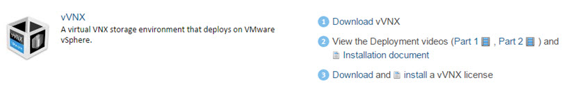 Free Virtual VNX software to Download - A full-featured