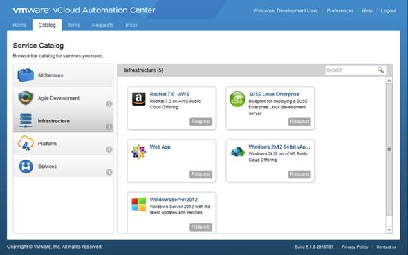 vRealize Cloud Management Platform, vCloud Suite 5 8, vCloud Air