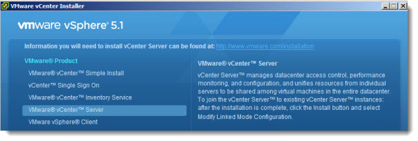 vCenter Server 5.1 Required ports