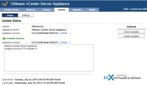 VMware vCenter Server 5.5 U1c