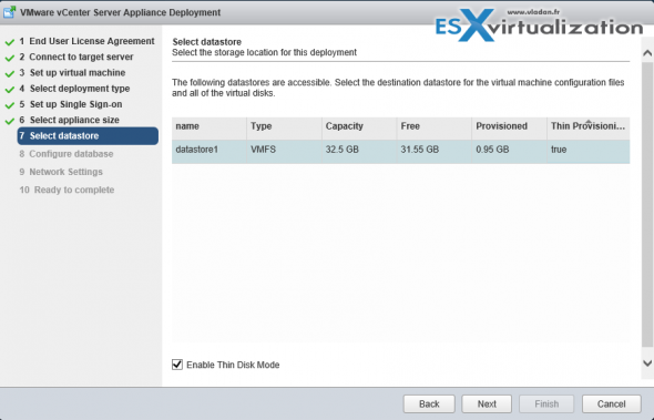 Installation vCenter 6.0 VCSA