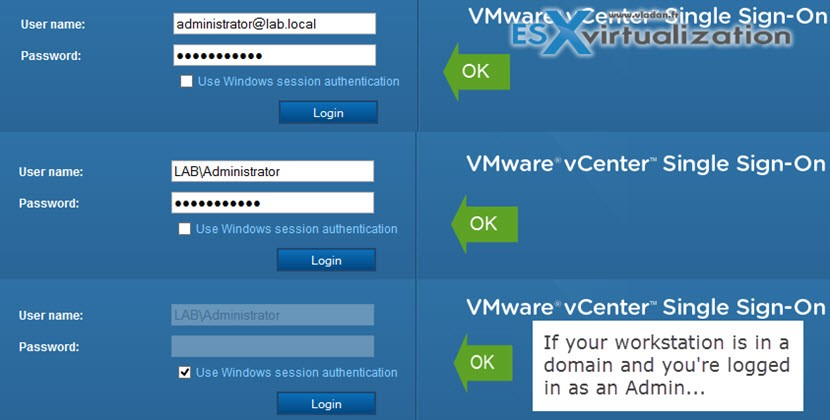 Configure vCenter Server 6 after install