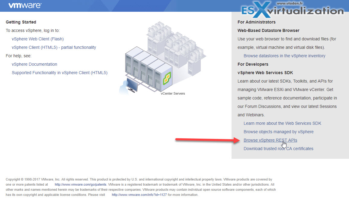 VMware API Explorer Is a Free Built-in Utility in VCSA | ESX