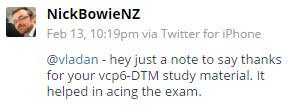 VCP6-DCV Exam Passed