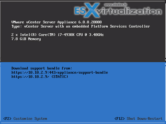 VMware VCSA 6 How to install in VMware Workstation