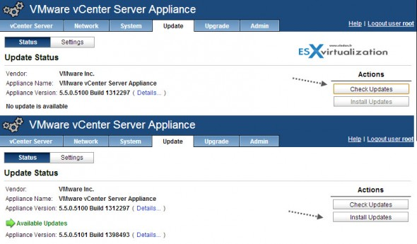 vcsa55 590x345 VMware vCenter Server 5.5.0a update available