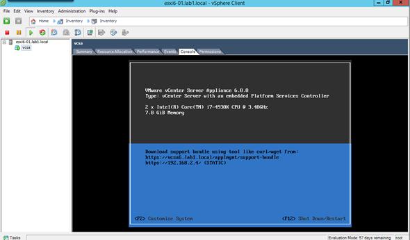 How to install VMware VCSA 6