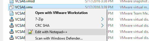 How to Install VCSA 6 in VMware Workstation