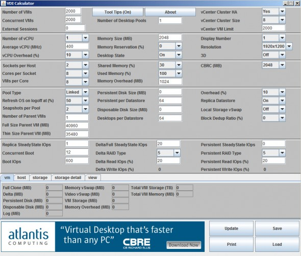 vdi calculator1 590x502 VDI Calculator Tool as a free offline utility   now available