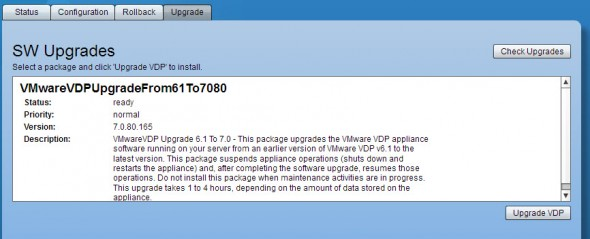 VDP 5.x upgrade to VDP 5.5