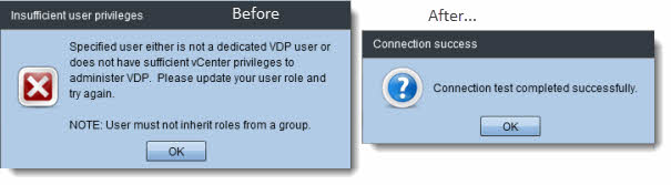 vSphere Data Protection - configuration guide