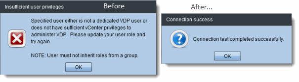 vSphere Data Protection - configuration guide